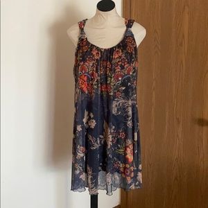 Desigual floral shift dress